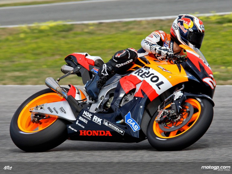 Dani Pedrosa in action (MotoGP)