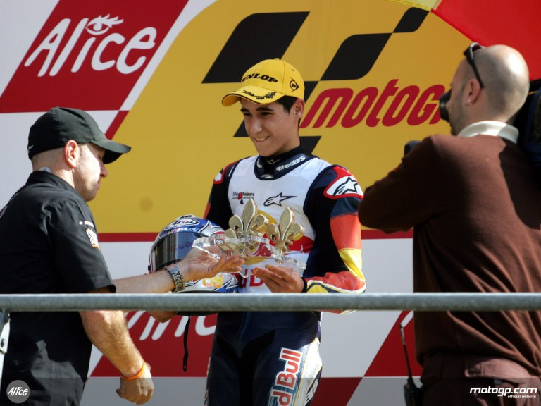Luis Salom takes victory in Red Bull MotoGP Rookies Cup at Le Mans