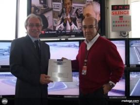FIM President Vito Ippolito and Dorna CEO Carmelo Ezpeleta
