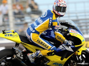 Tech3 Yamaha rider Colin Edwards
