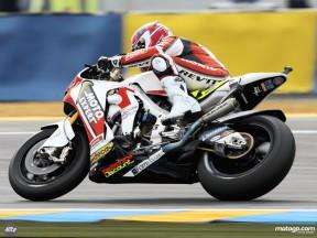 Randy De Puniet in action in Le Mans