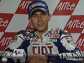 Jorge Lorenzo interview after race in France