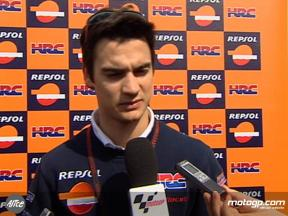 Pedrosa on fourth place