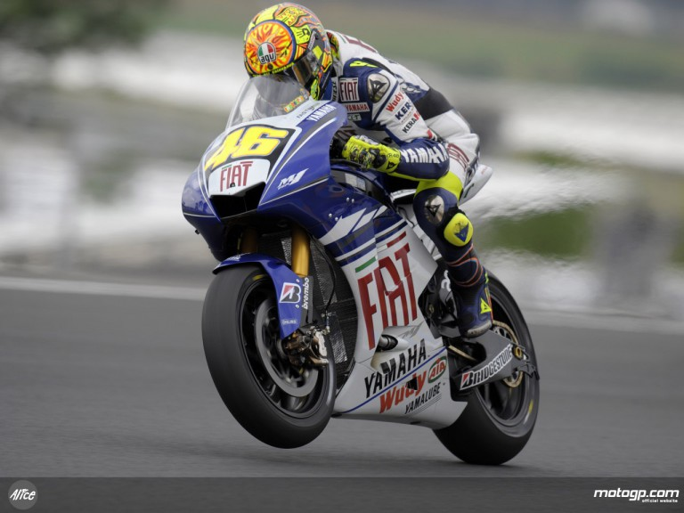 Valentino Rossi chasing second 2008 victory at le Mans