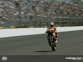 Nicky Hayden´s parade lap at Indy 500