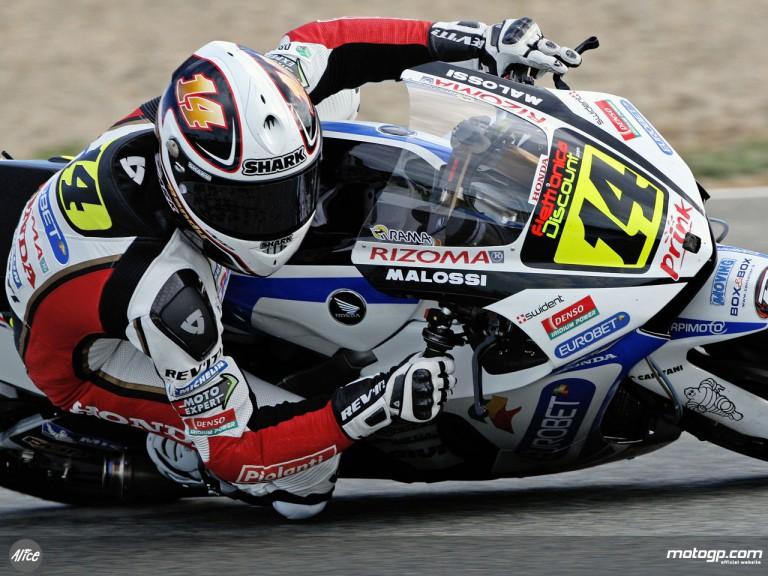 Randy De Puniet in action (MotoGP)