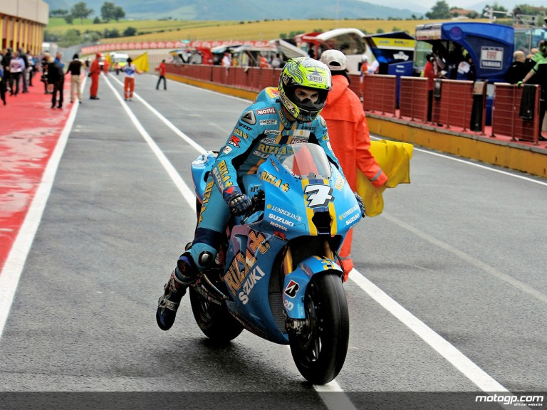Chris Vermeulen in action in Mugello