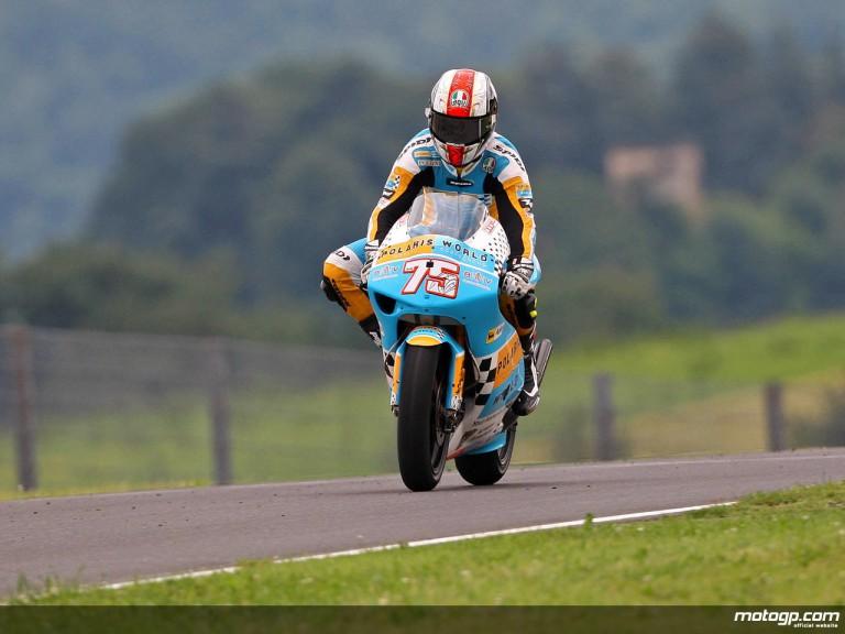 Mattia Pasini in action in Mugello (250cc)