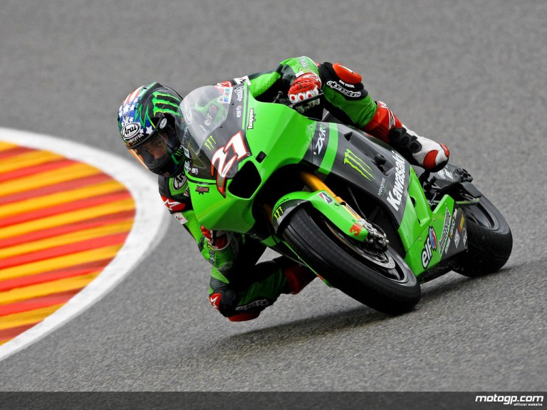 John Hopkins in action in Mugello