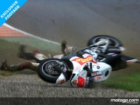 Nakano suffers heavy crash in FP2 at Mugello