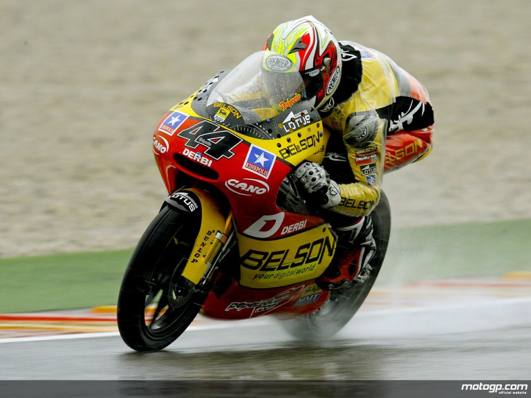 Pol Espargaró in action in Mugello (125cc)