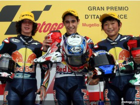 Salom takes another Red Bull MotoGP Rookies Cup win ahead of Beach and Hiura at Mugello