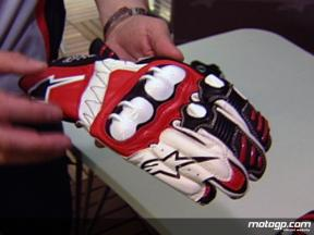 Alpinestars on glove development