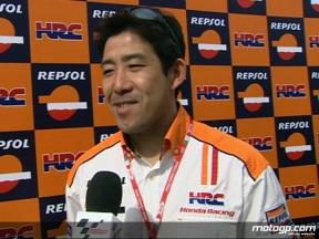 Tadayuki Okada Repsol Honda Team
