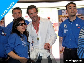 Mario Cippolini guest of the IC Team at Mugello