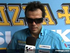 Capirossi on home pace
