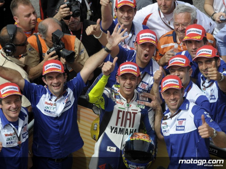 Rossi Team at Mugello