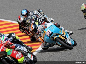 Bradley Smith in action in Mugello (125cc)