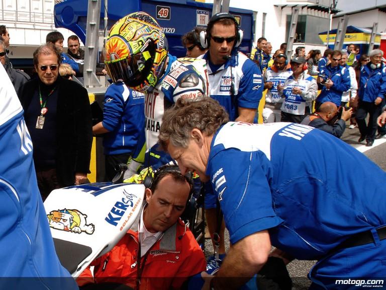Bridgestone and Burgess make final Rossi tyre adjustments