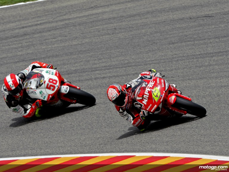 Alvaro Bautista in action in Mugello (250cc)