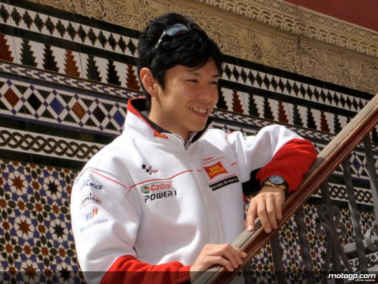 San Carlo Honda Gresini rider Shinya Nakano