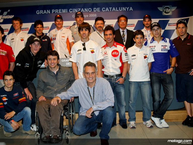 Dakar Solidario project gathers MotoGP and Motorsport stars at Catalunya
