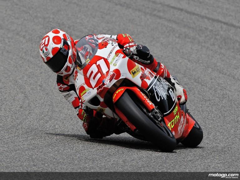 Hector Barberá in action (250cc)