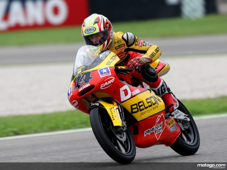 Pol Espargaró in action