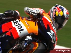 Catalunya 2008 - MotoGP FP2 Highlights