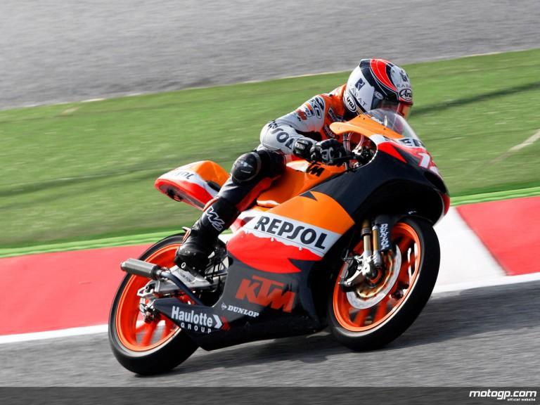 Esteve Rabat in action in Catalunya (125cc)
