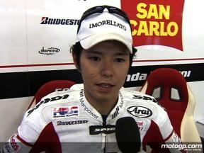 Shinya Nakano Team San Carlo Honda Gresini