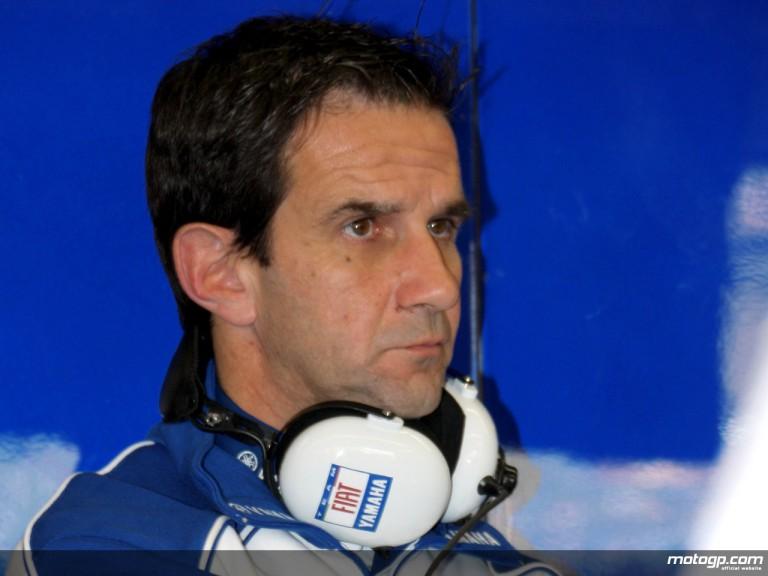 Davide Brivio, Fiat Yamaha team coordinator for Valentino Rossi