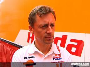 Leitner on Pedrosa test crash