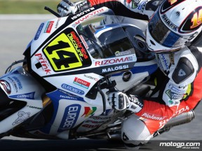 LCR Honda Randy de Puniet on track