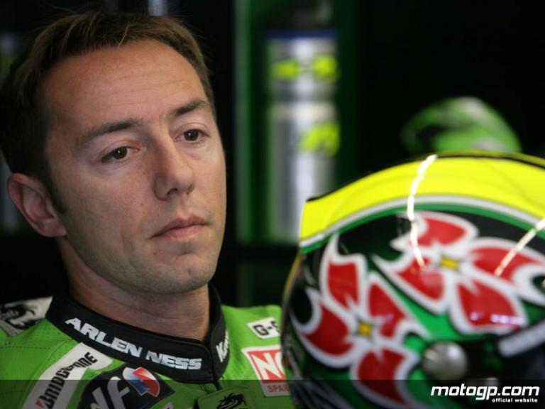 Kawasaki Racing test rider Olivier Jacque