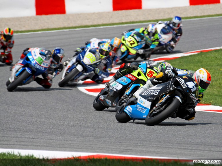 250cc Group in action in Catalunya