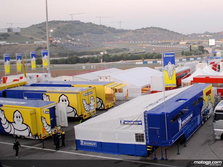 Michelin workshop area