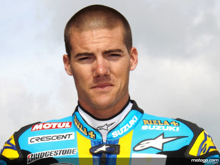Ben Spies all set for his MotoGP debut with Rizla Suzuki in Donington