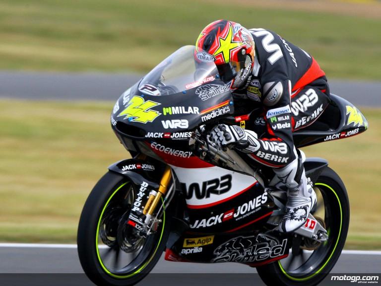 Simone Corsi in action (125cc)