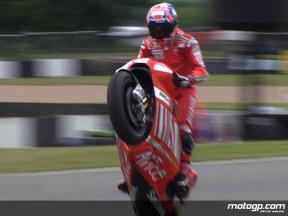 Donington Park 2008 - MotoGP FP2 Highlights
