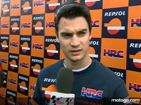 Pedrosa explains Friday crash