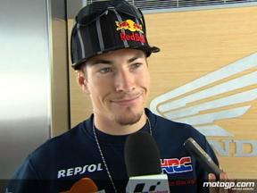 Hayden pleased with engine opportunity