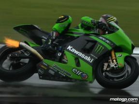 Best images of MotoGP FP3 in Donington Park