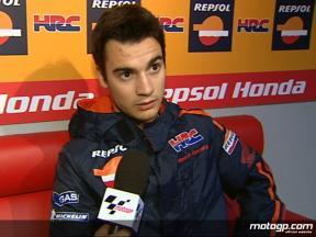 決勝レース:D.ペドロサ インタビュー