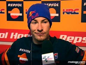 Hayden on problem-free qualifying