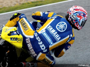 Collin Edwards in action (MotoGP)