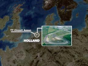 Assen circuit close up