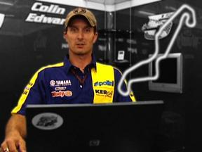 A lap of Assen  with Colin Edwards
