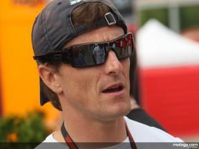 Ducati Marlboro guest test rider Sete Gibernau