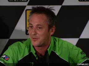 Kawasaki Racing Manager Michael Bartholemy on Hopkins´recent failures and West return to form